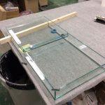 ガラスケース製作
