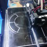 3Dプリンターのヘッド部分に使用する耐熱ガラス(テンパックスフロート)をご注文いただいたお客様(千葉県木更津市N様)