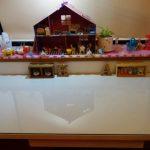 学習机の上に強化フロートガラスを置かれたお客様(埼玉県狭山市N様)