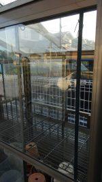 温室のガラスの割れ替えを行ったお客様(千葉県野田市T様)