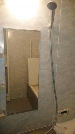 DIYで浴室の鏡を交換されたお客様(埼玉県川口市F様)
