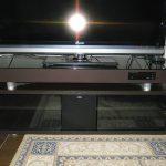 テレビボードの扉に強化ガラスをご使用になったお客様(千葉県千葉市A様)
