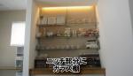 ガラス棚と水平ブラケット等の金具をセットでご購入されたお客様(香川県さぬき市O社様)
