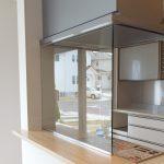 [施工]システムキッチンにオイルガード「ウォールタイプ」を設置(奈良県奈良市O様)